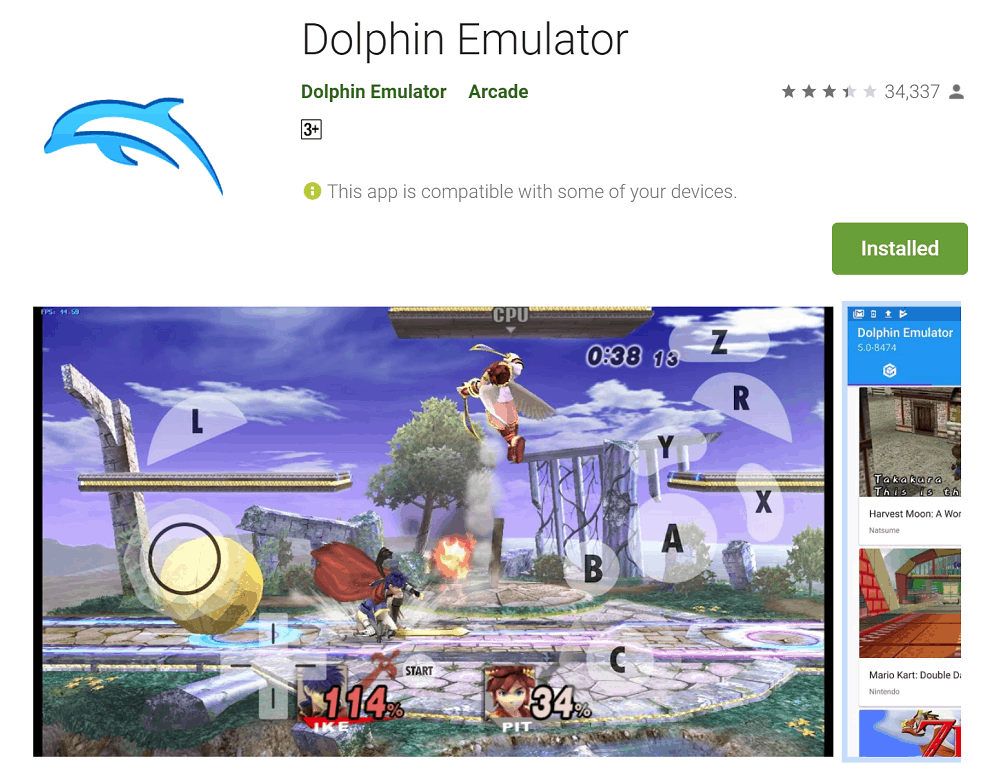dolphin emulator android apk here